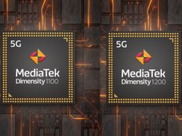 MediaTek Dimensity 1200 and Dimensity 1100 5G Chipsets Announced