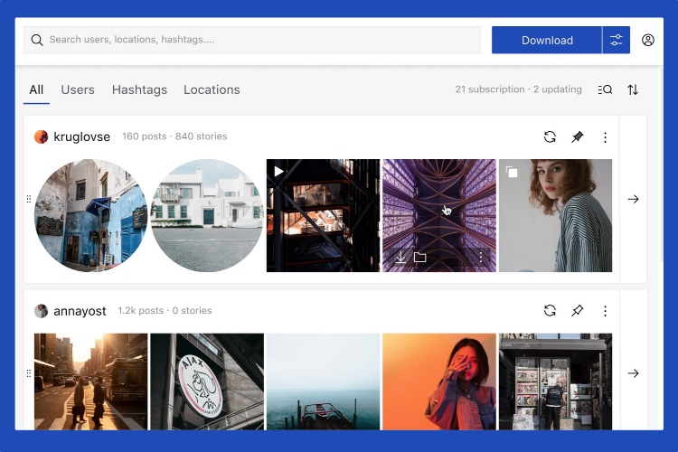 Qoob Stories: View and Download Instagram Stories, Photos, Videos