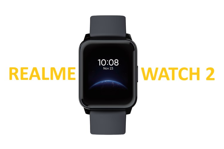 Realme Watch 2 Design and Specs Revealed by FCC Listing