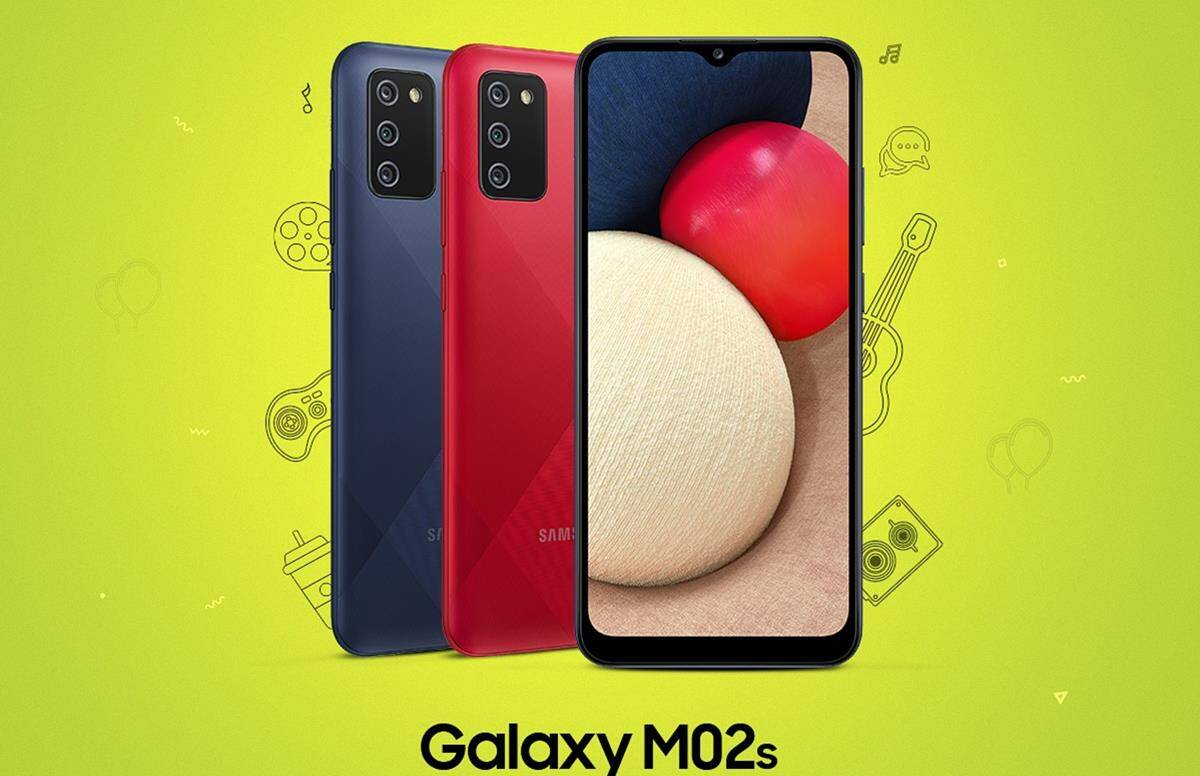 Samsung Galaxy M02s Launched this samsung mobile sport 4 camera and 5000 mAh battery know price - Samsung Galaxy M02s launch with 4 cameras and 5000 mAh battery