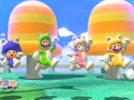 Super Mario 3D World + Bowser's Fury on Switch has online play, photo mode