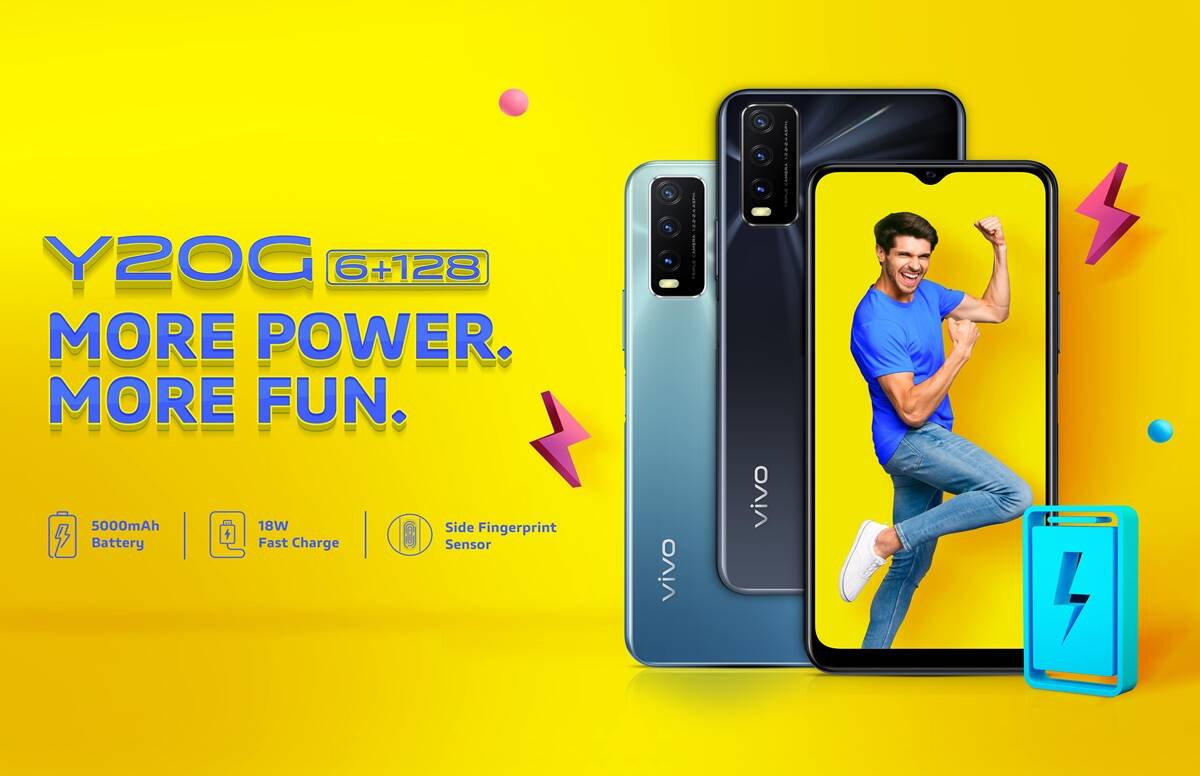 Vivo Y20G launched in India price specifications and everything Realme and xiaomi - Vivo Y20G launch