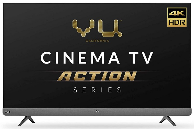 Vu Cinema TV Action Series Launched in India; Price Starting at Rs 49,999