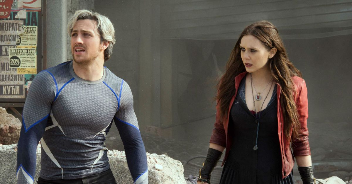 What happened to Scarlet Witch's brother Quicksilver before WandaVision