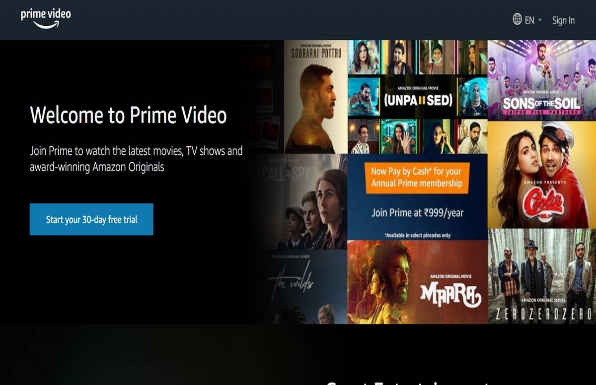 amazon prime video in just rs 89 for one month know more plans like this - amazon prime video: enjoy prime video for just 89 rupees, learn more like this