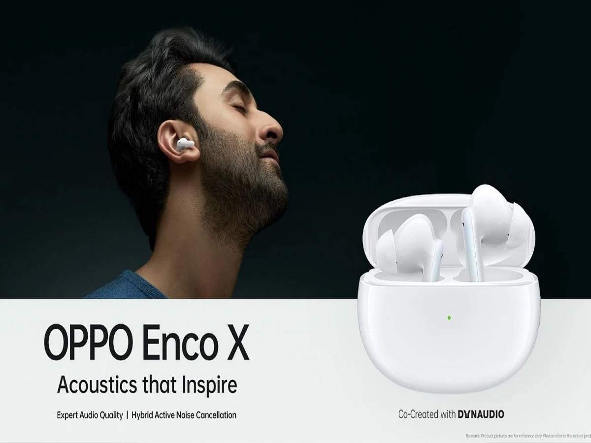 oppo enco x tws earbuds: Samsung has come to compete with Apple's earbuds oppo enco x, see features - oppo enco x tws earbuds launched in india with oppo reno 5 pro 5g