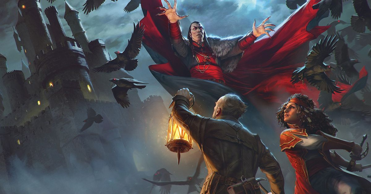 Dungeons & Dragons' new book reboots the realms of Ravenloft