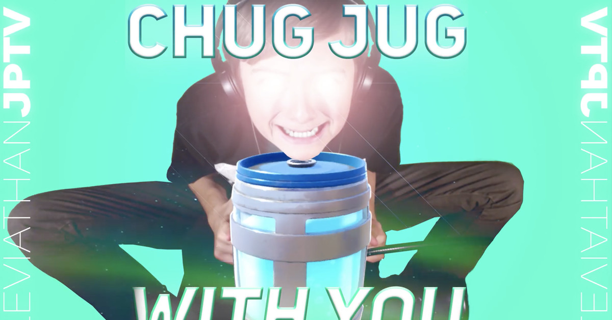 Fortnite's Chug Jug 'American Boy' parody is taking over TikTok