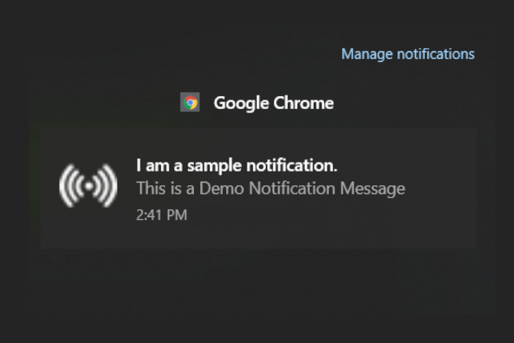 How to Restore Chrome's Native Notification on Windows 10