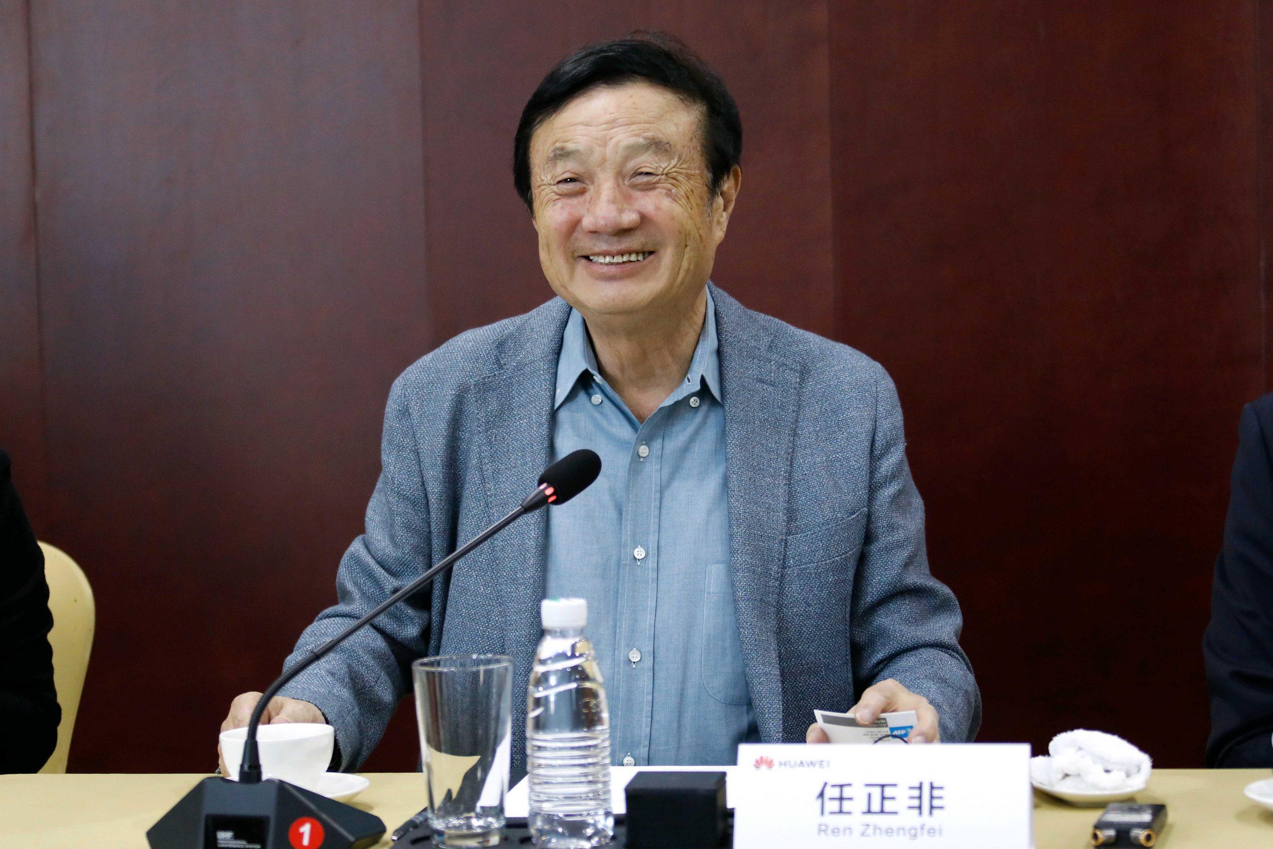 Huawei founder Ren Zhengfei hopes for improved US-China relations