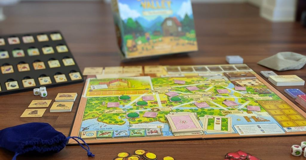 Stardew Valley is a board game now