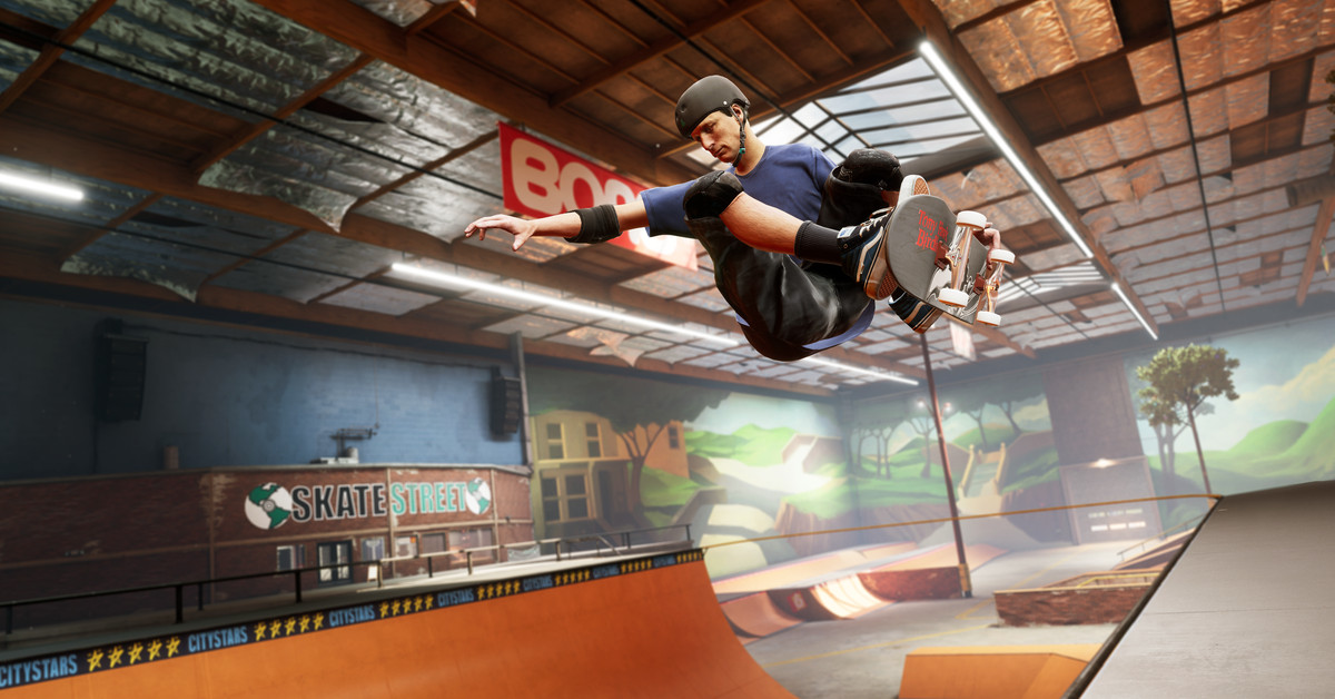 Tony Hawk's Pro Skater 1 and 2 coming to PS5, Xbox Series X, Switch