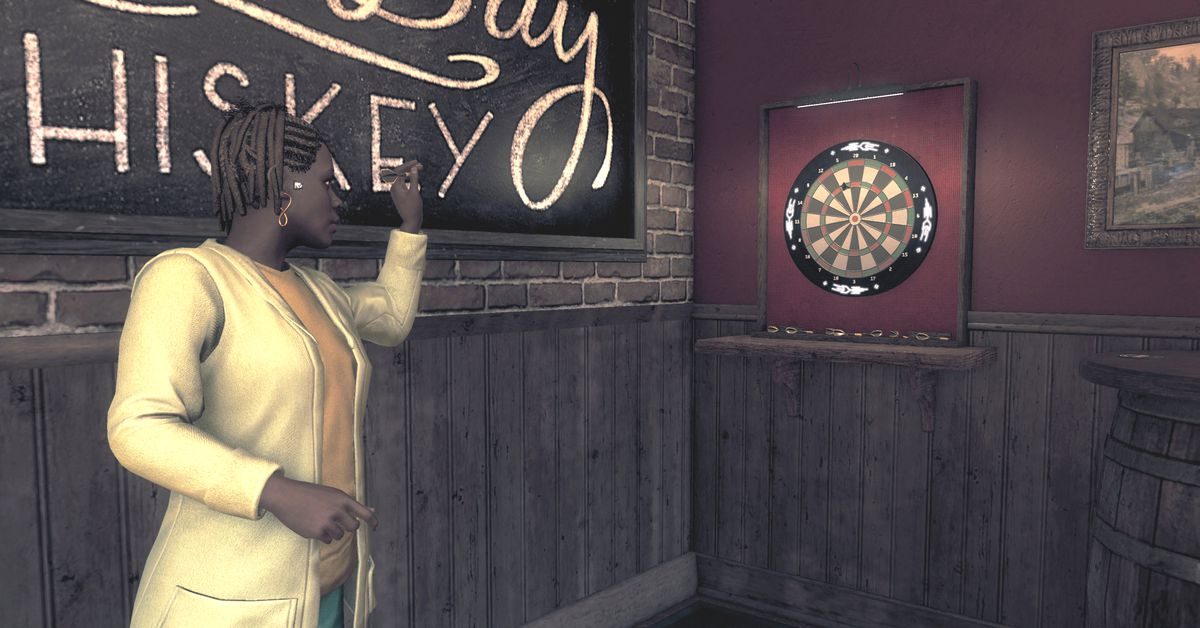 Watch Dogs: Legion's darts is actually a pretty cool game
