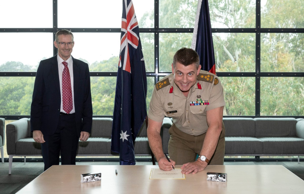 Inmarsat helps the Australian Defence Force to become a satellite operator