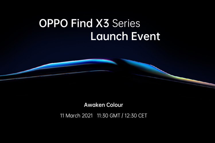 Oppo Will Unveil the Find X3 Series on March 11