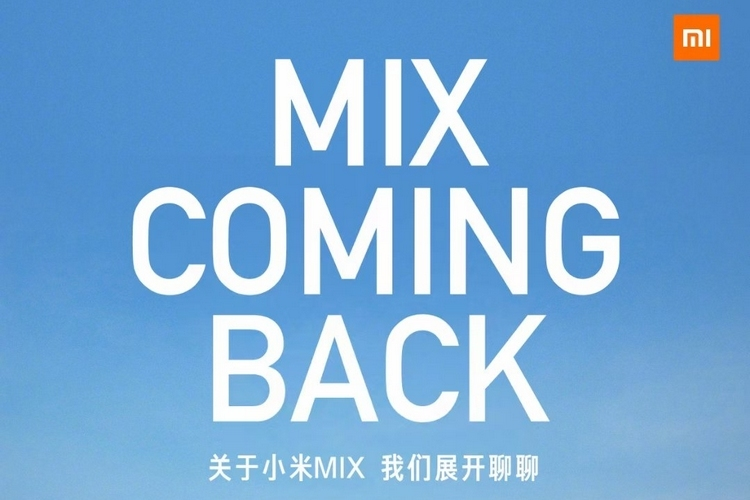 Xiaomi to Launch New Mi Mix Phone on March 29