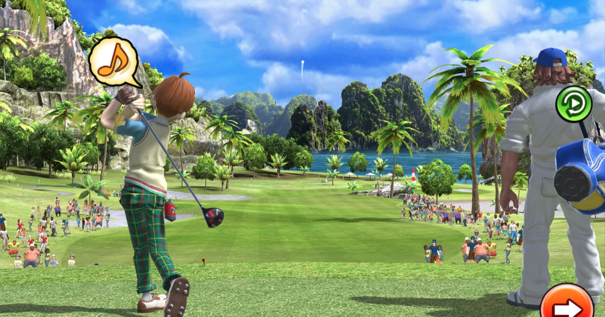 Clap Hanz Golf brings the best of Everybody's Golf to Apple Arcade