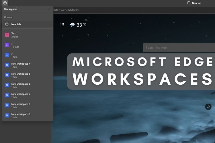 How to Enable Edge Workspaces and Organize Tabs Efficiently