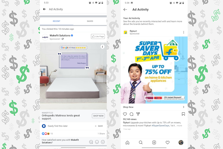 How to Find Recently Viewed Ads on Instagram and Facebook