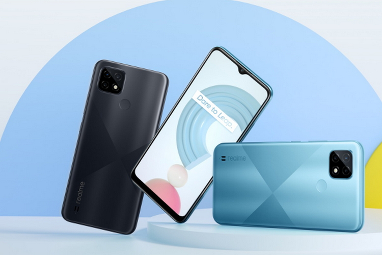 Realme C20, C21, and C25 Launched in India Starting at Rs. 6,999