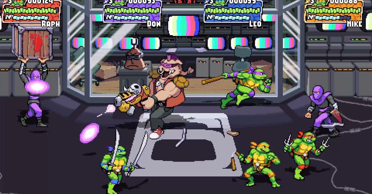 Teenage Mutant Ninja Turtles: Shredder's Revenge announced for Switch