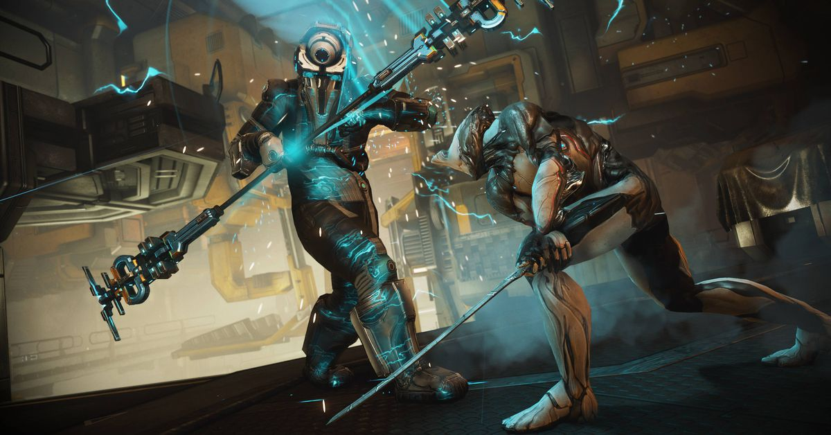 Warframe's Call of the Tempestarii patch adds Sevagoth, new Railjack