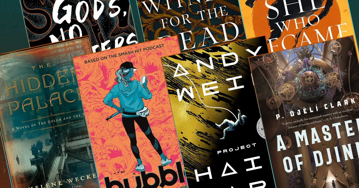 15 best new science fiction & fantasy books to read this summer