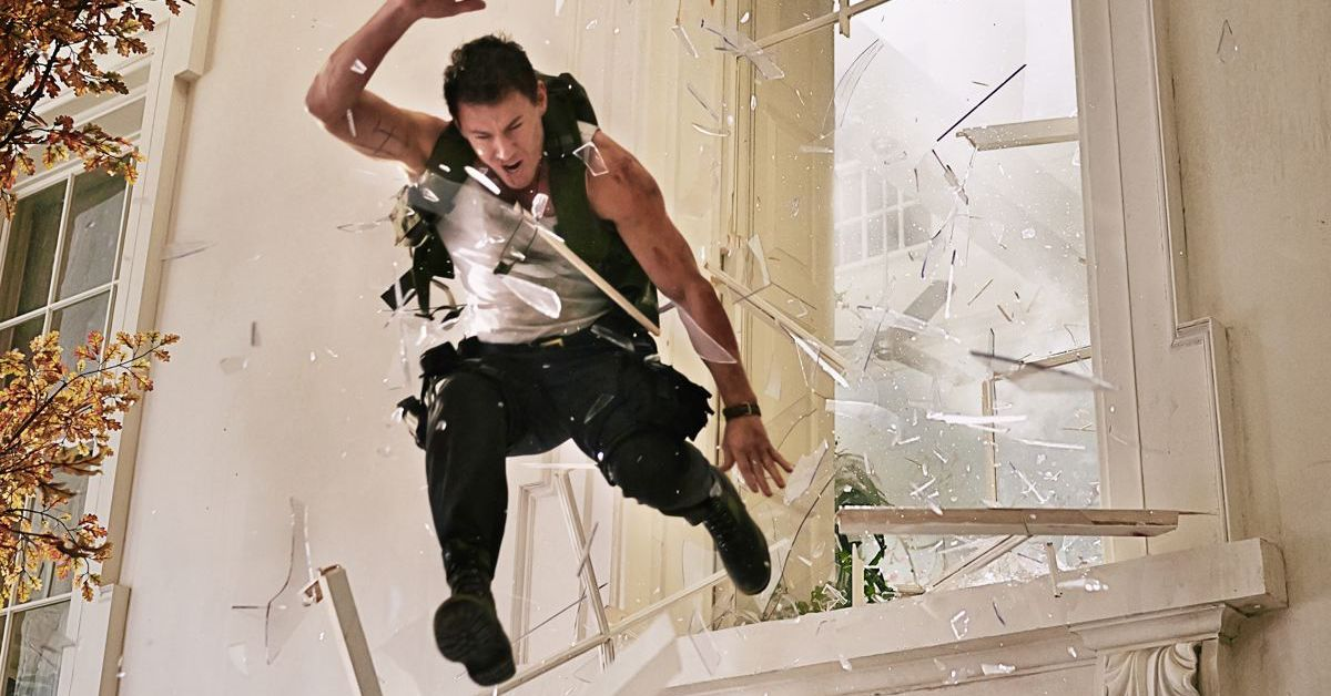 The best dumb action movie to watch right now is White House Down