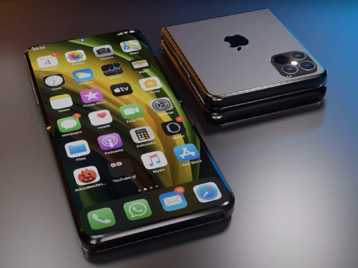 foldable iphone: Apple will bring foldable smartphone in 2023, will have 8 inch OLED display - apple may launch foldable iphone report