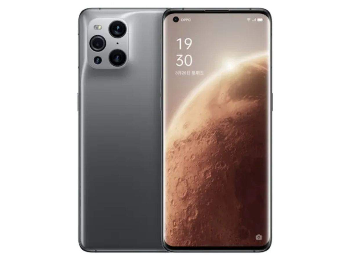 oppo find x3 pro mars exploration edition prie: OPPO Find X3 Pro Mars Exploration Edition: it has 16GB RAM and 512GB storage - oppo find x3 pro mars exploration edition launched at 80000 rupees with 16gb ram 512gb storage