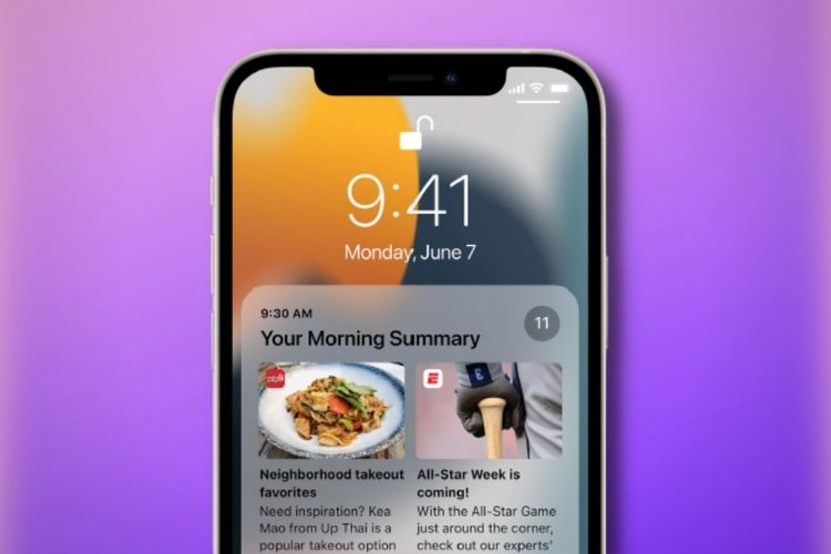 How to Enable/ Disable Notification Summary in iOS 15