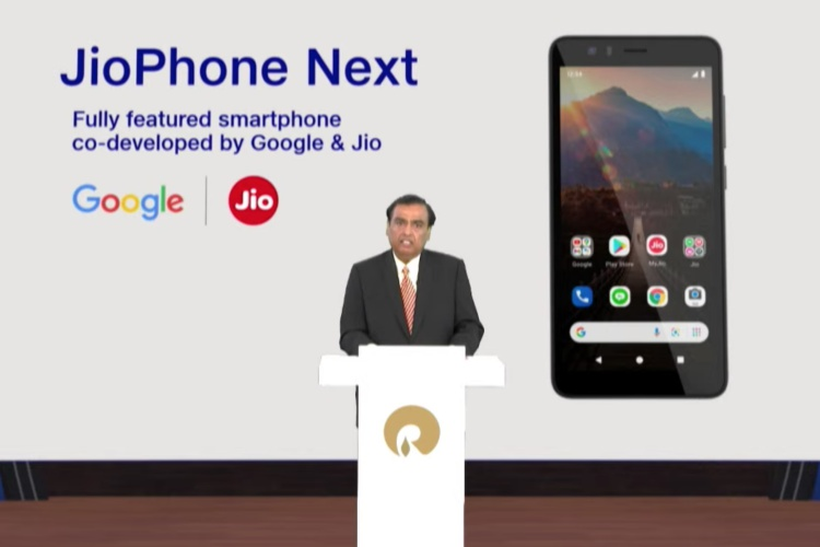 Jio and Google Announce JioPhone Next, the Most Affordable 4G Smartphone