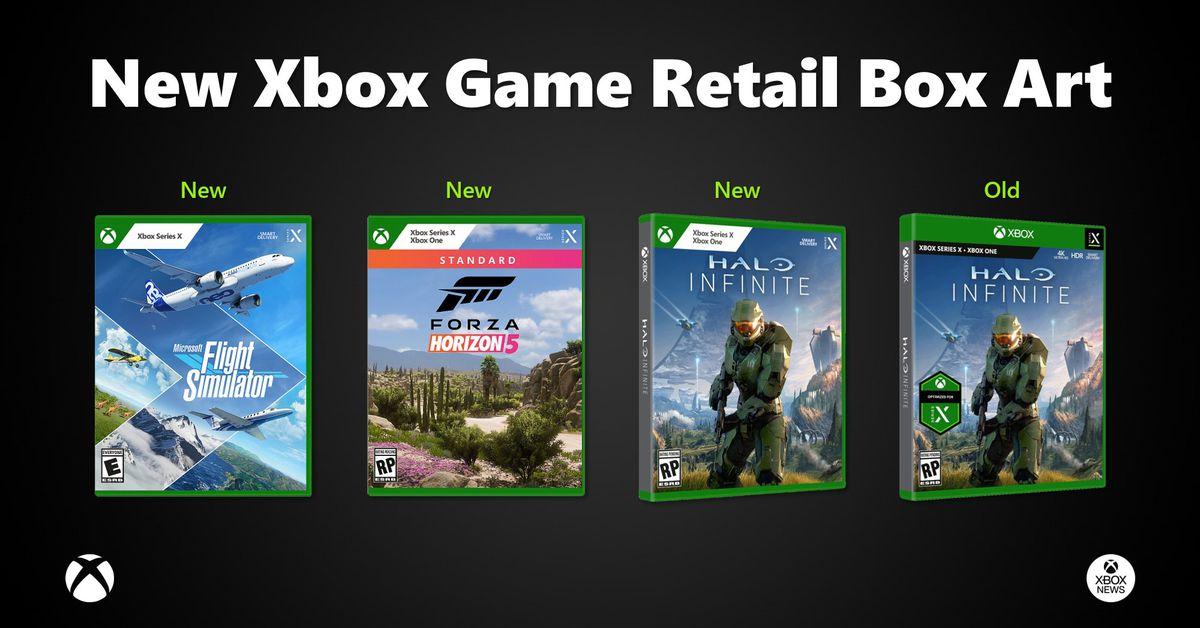 Microsoft switches Xbox/PC game case design again