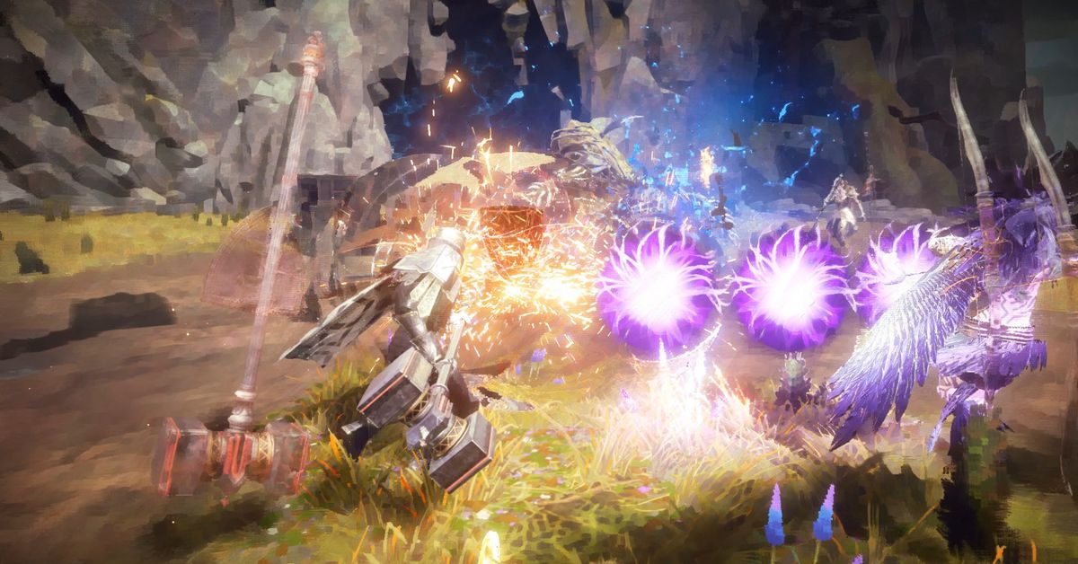 PlatinumGames' Babylon's Fall looks rough, but has a great pedigree