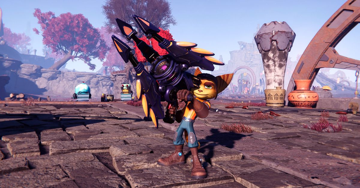 Ratchet & Clank: Rift Apart's RYNO 8 is a PlayStation cameo gun