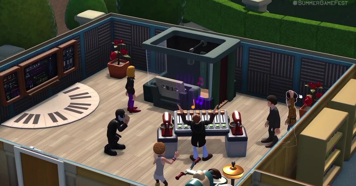 Two Point Campus coming from Two Point Hospital creator