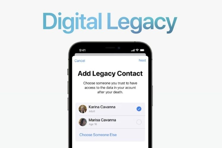 What is Apple Digital Legacy and How to Add a Legacy Contact