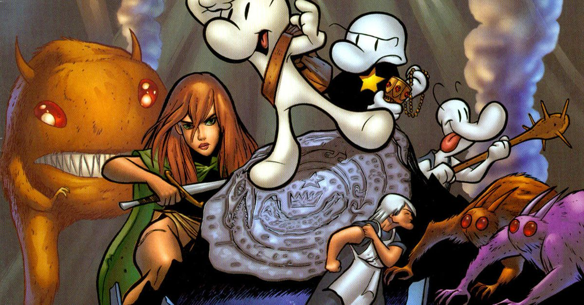 Bone creator Jeff Smith gives first update on Netflix's animated series