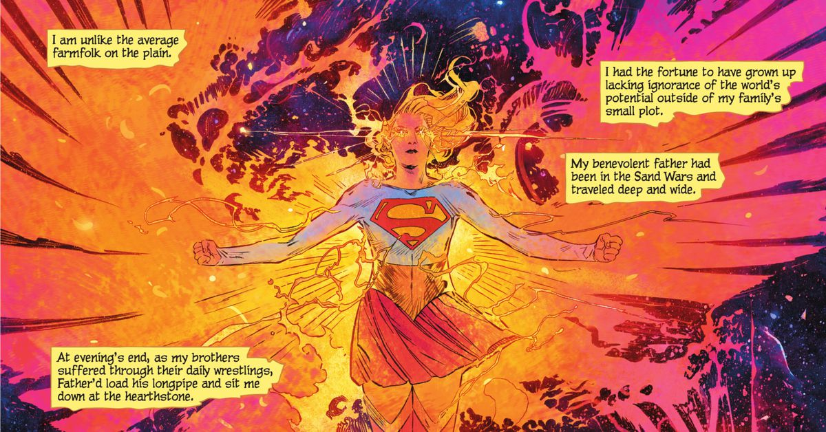 DC's new comic makes Supergirl stronger than Superman