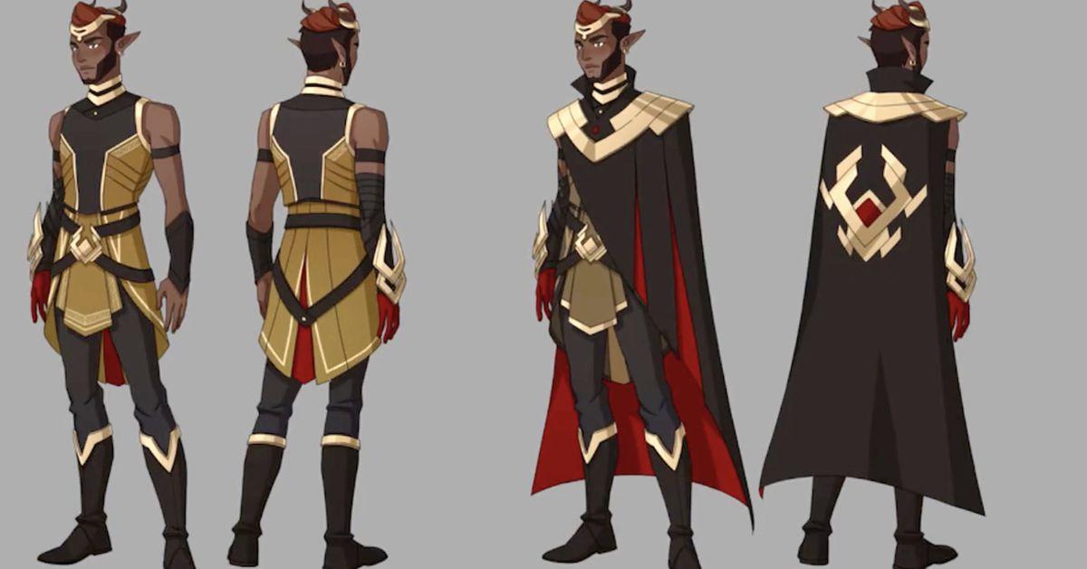 Dragon Prince SDCC 2021 panel drops season 4 clues for fans to assemble