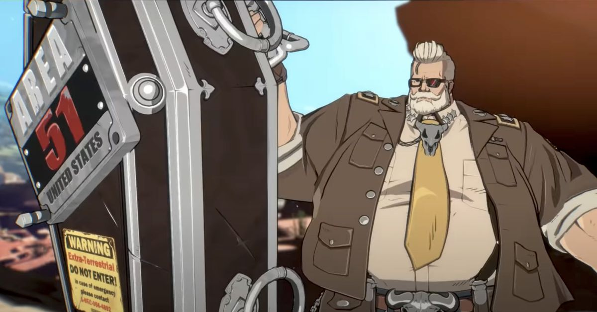 Guilty Gear Strive DLC fighter Goldlewis Dickinson release date announced
