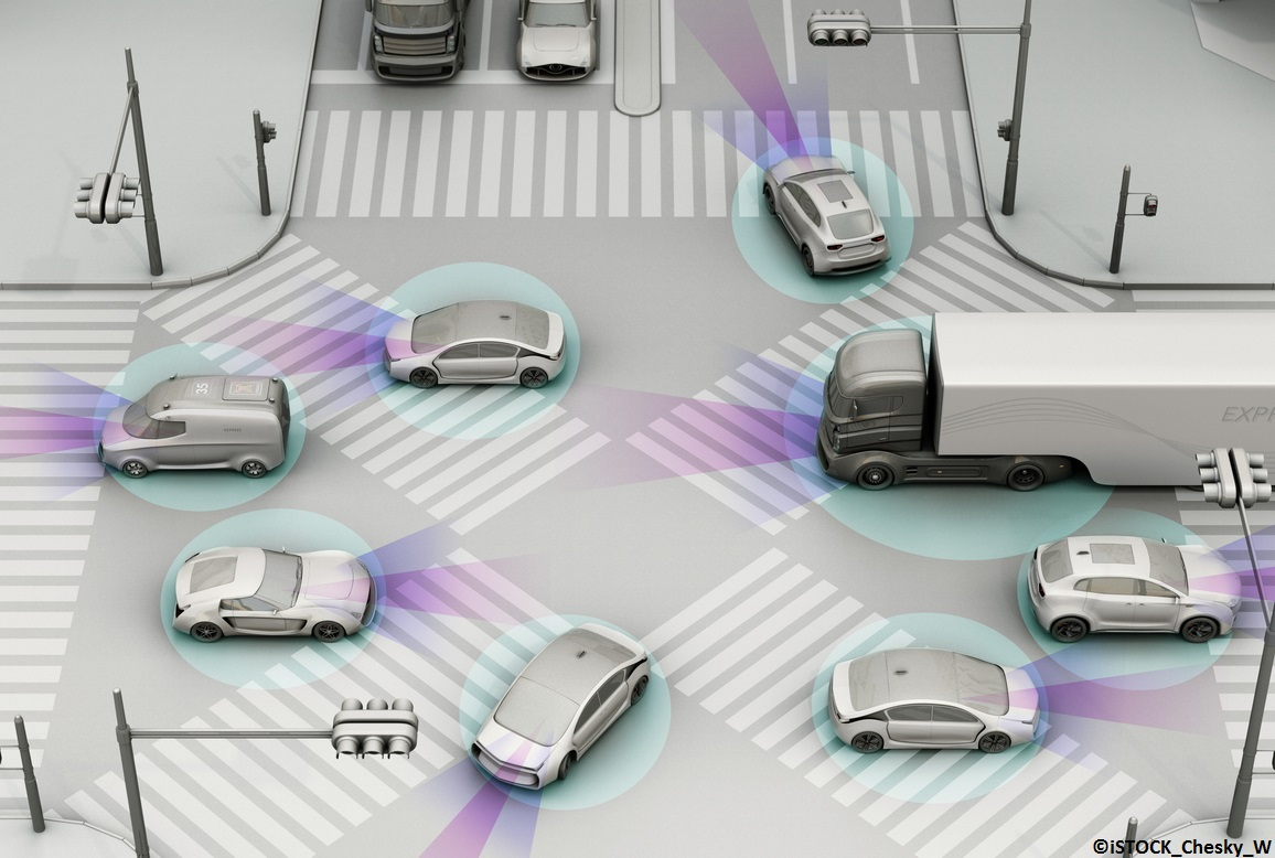 How can 5G technologies improve vehicle safety?