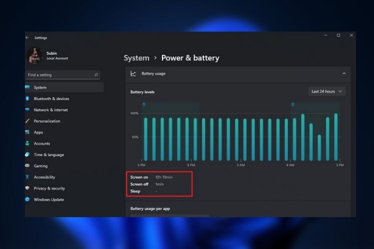 How to Check Screen on Time in Windows 11 (2021)