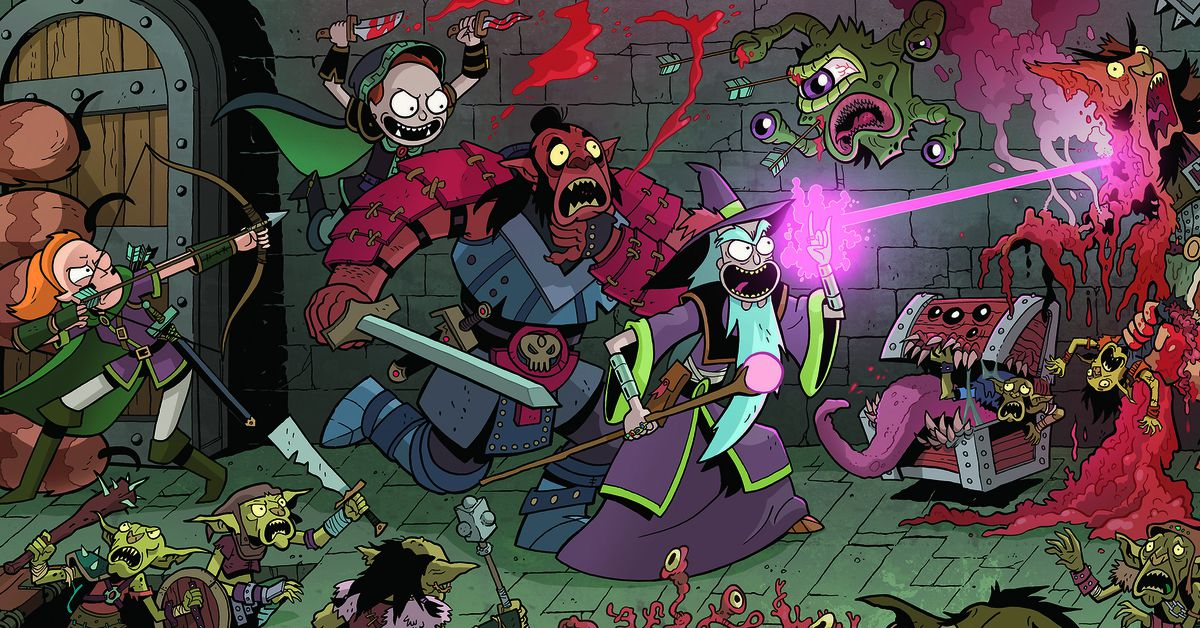 How to watch the Rick and Morty vs. D&D actual play at SDCC