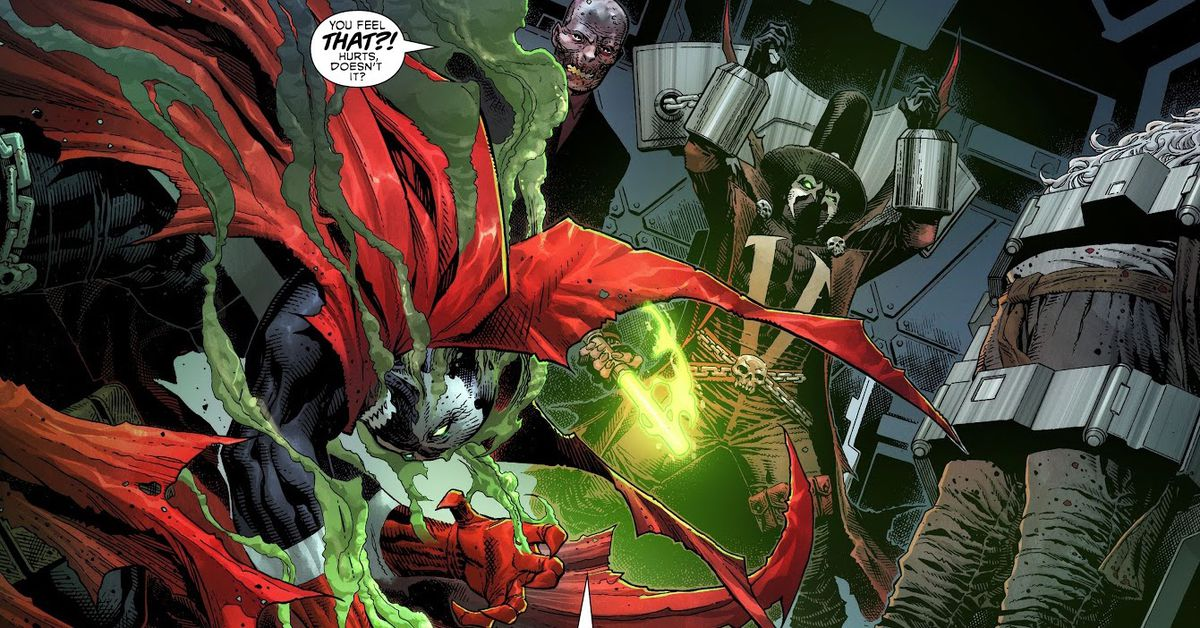 King Spawn's epic aim explained by Todd McFarlane at Comic-Con 2021