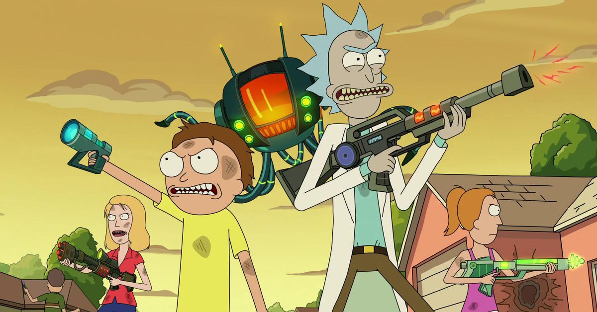 Rick and Morty 2021 SDCC panel was an extremely silly look at season 5