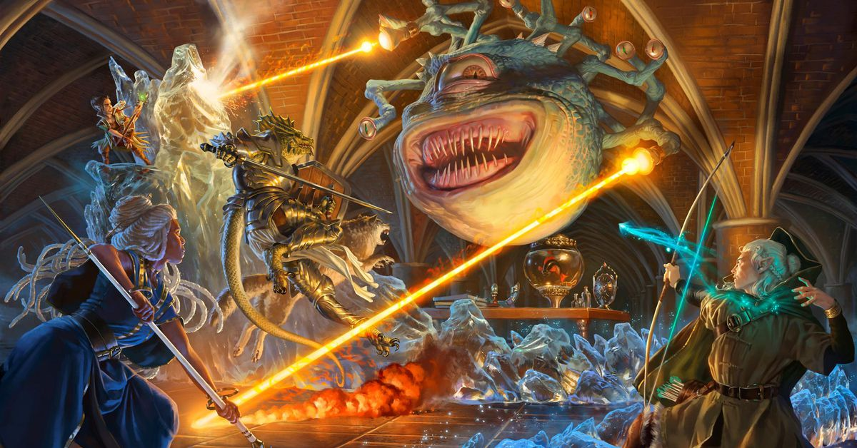 SDCC: Magic: The Gathering's Mark Rosewater on the first ever D&D cards