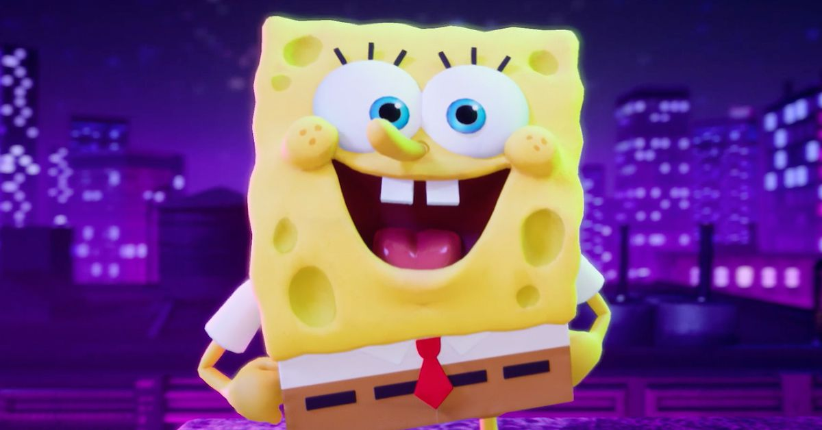 SpongeBob will smash in Nickelodeon's All-Star Brawl, which is exactly what you think it is
