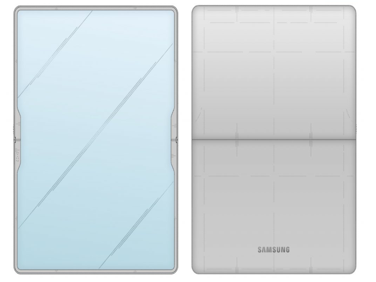 Samsung Tablet Foldable Display: This Samsung tablet with a big screen will be covered as soon as it arrives, can be folded and taken anywhere - samsung could be working on a tablet with a foldable display