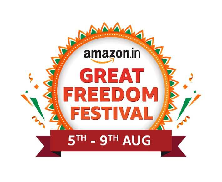 amazon great freedom festival from 5 august to 9 august discount and offers on smartphones laptops smart tv ac